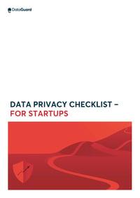 data privacy checklist for startups